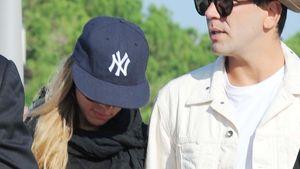 Scarlett Johansson & Romain inkognito in Venedig