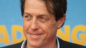 Hollywood in Berlin: Hugh Grant verdreht allen den Kopf!