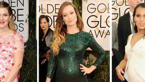 Süße Babybauch-Parade bei den Golden Globes 2014
