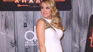 Himmlisch! Carrie Underwood als runder X-mas-Engel