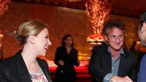 Sean Penn und Scarlett Johansson