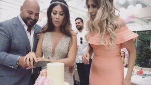 Senna und Clumsy mit ihrem Ehemann bei der Hochzeit