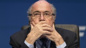Mega-Strafe! Fifa-Boss Blatter & Platini 8 Jahre gesperrt