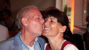 Sepp Schauer und seine Frau Corinna Binzer