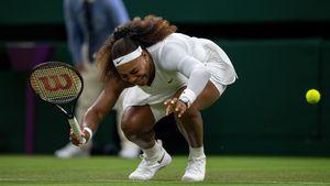 Wimbledon-Aus: Serena Williams verletzt sich bei Tennismatch