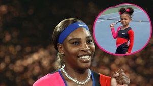 Mini-Me: Olympia kommt ganz nach ihrer Mama Serena Williams