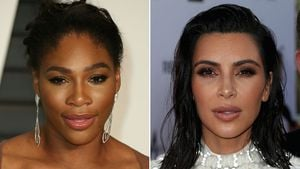 Serena Williams und Kim Kardashian