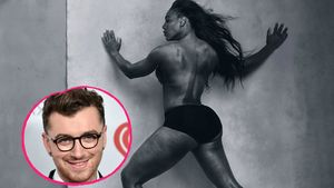 Sam Smith und Serena Williams
