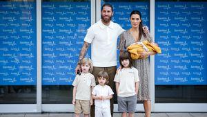 Sergio Ramos wieder Vater: Erstes Bild der ganzen Familie