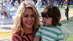 Süßer Support: Mini-Milan mit Mama Shakira bei WM
