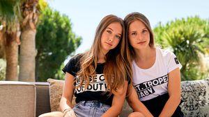 """Shania und Davina Geiss: """"An manchen Tagen hassen wir uns!"""""""