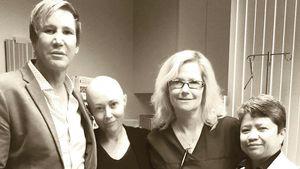 Shannen Doherty und ihr Chemoteam