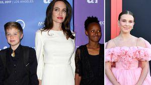 """""""Stranger Things""""-Party: Millie feierte mit Jolie-Pitt-Kids"""