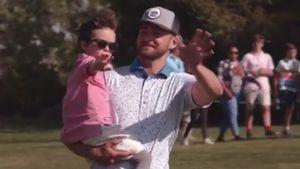 Justin Timberlake: Seltener Auftritt mit Sohnemann Silas!
