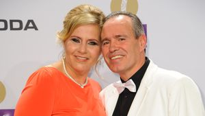 Silvia Wollny und Harald Elsenbast bei der Echo-Verleihung 2015