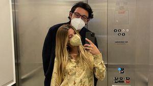 Intimes Fahrstuhl-Selfie: Ist das Sofia Richies neuer Lover?