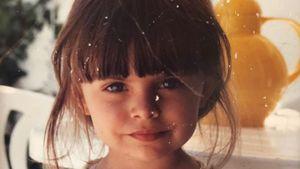 Goldige Pony-Frisur: Wer ist denn dieses niedliche Mädchen?