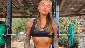 Mega-Muckis: Sophia Thomalla zeigt durchtrainierten Körper