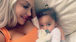 Sophia Vegas teilt süßes Kuschelfoto mit ihrem Töchterchen