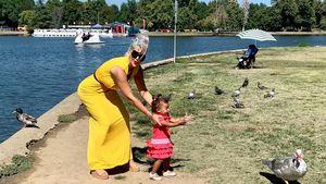 Wenige Insta-Posts: Sophia Vegas genießt ihr echtes Leben