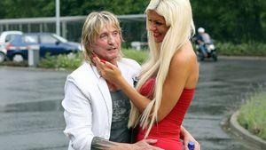 Bert und Sophia Wollersheim nach seiner Entlassung aus der JVA Düsseldorf 2012