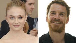 Sophie Turner & Michael Fassbender Collage
