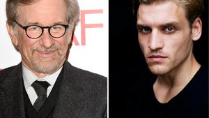 Steven Spielberg und Nico Ehrenteit