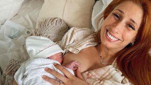 Vier Tage nach Geburt: Stacey Solomon hat keinen Babynamen