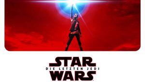 """Star Wars VIII Plakat, """"Die letzten Jedi"""""""