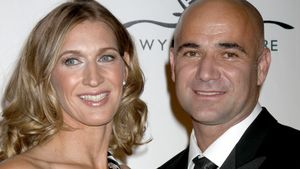 Andre Agassi und Steffi Graf