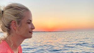 """""""Magischer Moment"""": Susan Sideropoulos genießt Sonnenaufgang"""