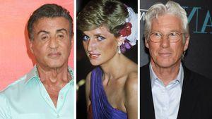 Stallone und Richard Gere prügelten sich fast um Lady Diana