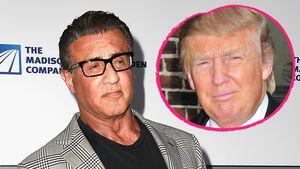 Sylvester Stallone und Donald Trump