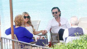 Am Tag vor Hochzeit: Sylvie und Niclas entspannt beim Lunch