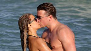 Sylvie Meis & ihr neuer Freund Bart: Heiße Küsse am Strand!