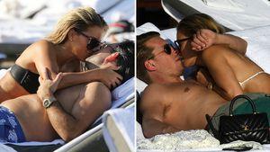 Wie mit Ex: Sylvie Meis knutscht mit Verlobtem am Strand