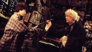 """Daniel Radcliffe und John Hurt in """"Harry Potter und der Stein der Weisen"""" (2001)"""