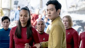 "Szene aus ""Star Trek Beyond"""
