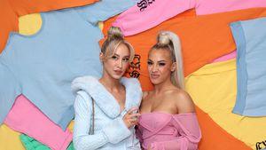 So sexy posieren Hembrow-Schwestern auf der Fashion Week