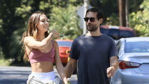 Tobey Maguire turtelt mit seiner sexy Freundin durch L.A.