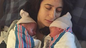 Nach Mega-Bauch-Foto: Terry Richardsons Zwillinge sind da!