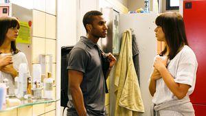Heiße AWZ-Dusch-Szene: Bei Michelle und Mo knistert es!