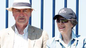 Megaselten: Prinzessin Anne mit Ehemann Timothy auf Event