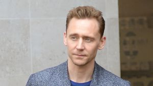 Tom Hiddleston Anfang 2017