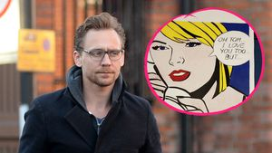 Ironische Reunion! Tom Hiddleston trifft auf Taylor-Poster