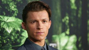 "Tom Holland bei der Premiere von ""The Lost City Of Z"""