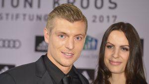 Toni Kroos mit Ehefrau Jessica Farber bei der Charity-Gala seiner Stiftung in Köln