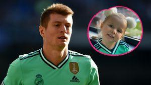Selten: Toni Kroos teilt putzige Bilder seiner zwei Kinder