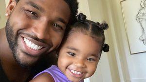 Twin-Pic: Tristan Thompson teilt süßes Foto mit Tochter True
