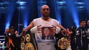 Tyson Fury im Ring